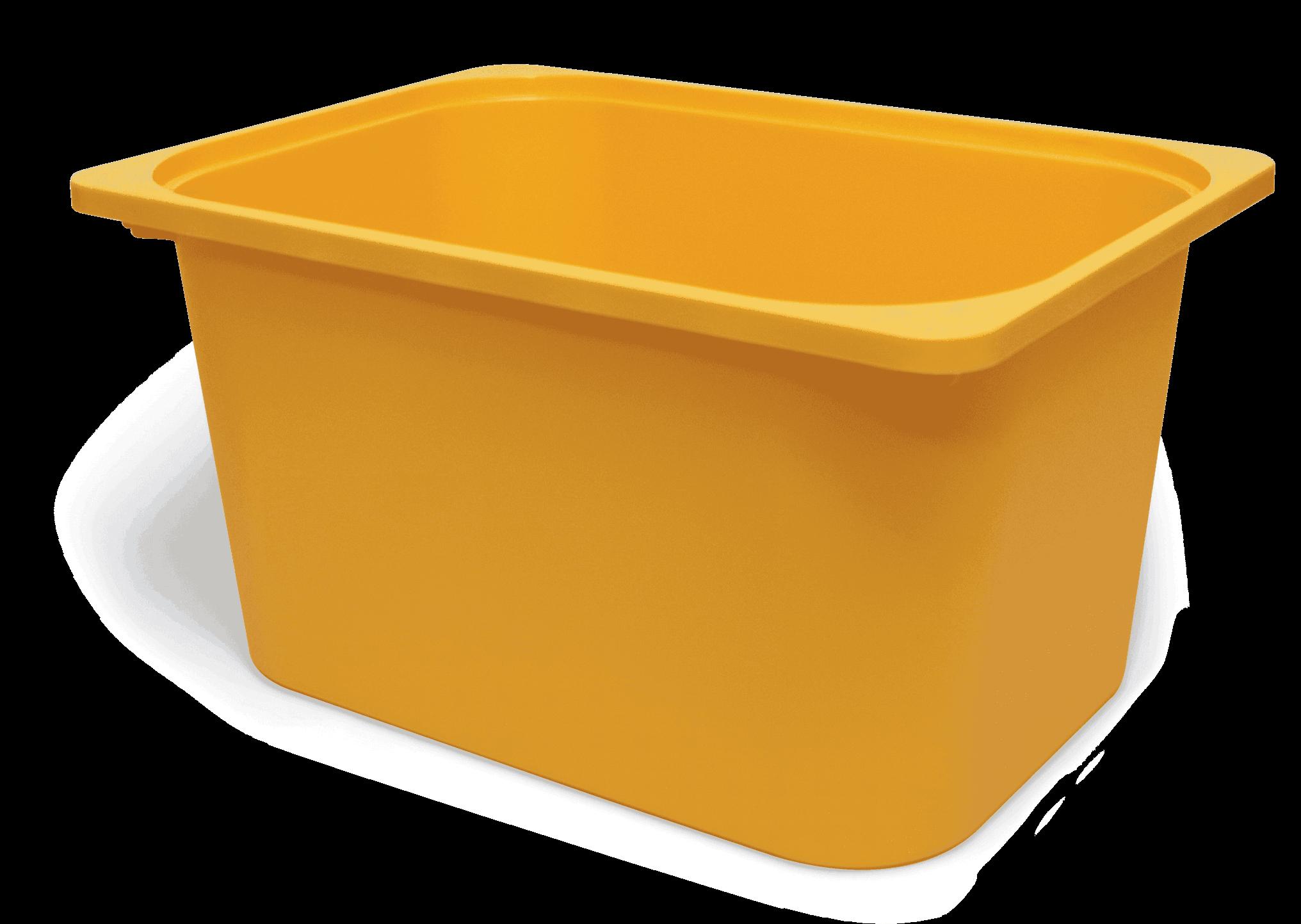 Saklama Kutusu Kavun Sarı 42x30x23