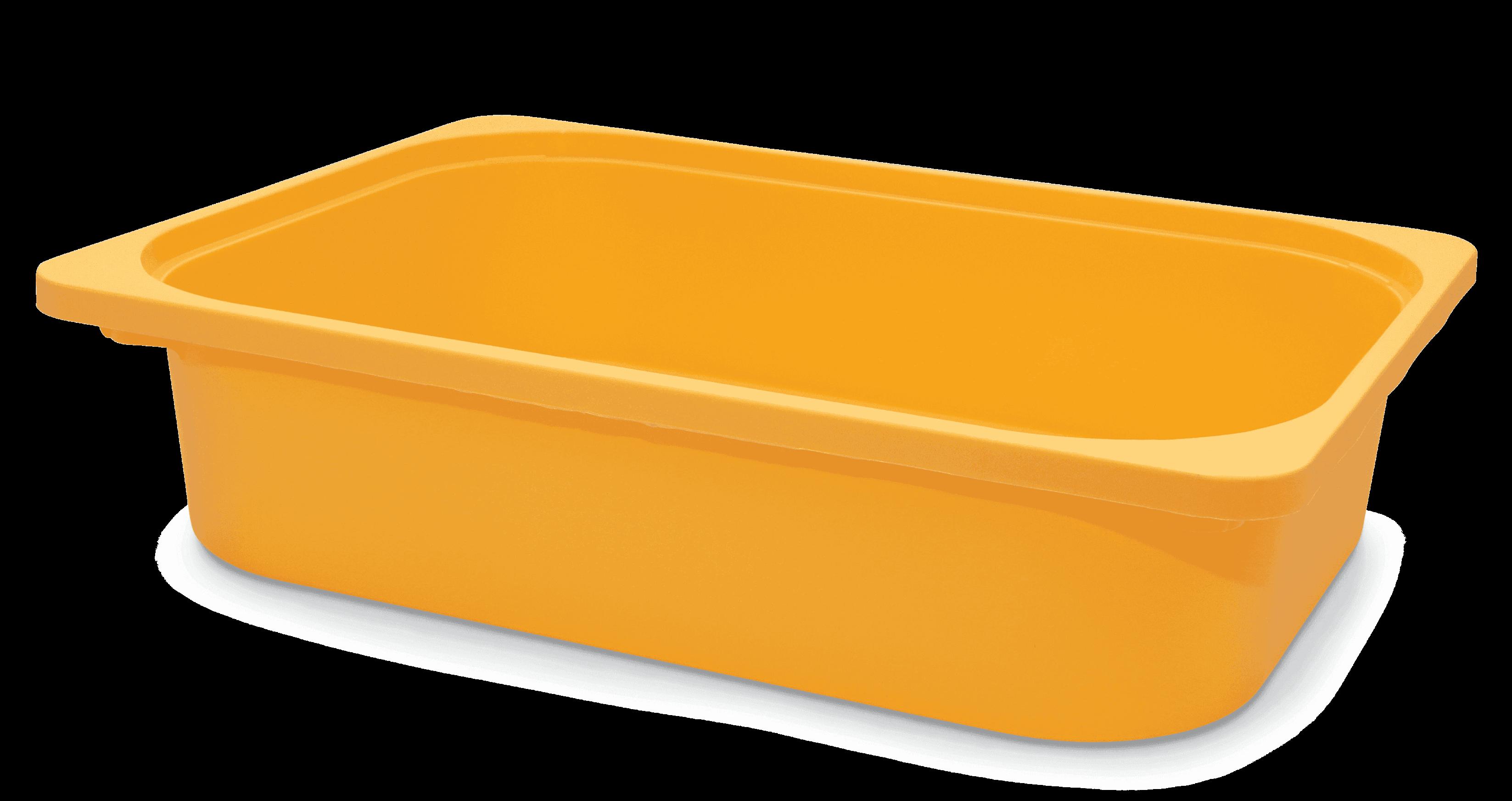 Saklama Kutusu Kavun Sarı 42x30x10